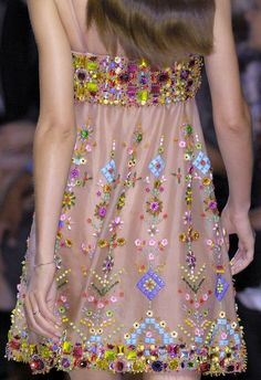 Embroidered Frock Of 2013 ..