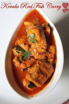 Kerala Fish Curry Recipe / Nadan Meen Curry Recipe / Kerala Red Fish Curry Recipe