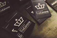 TreCorone Fusion Restaurant Identity