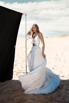 Calli Skirt & Silk Cami   One Day Bridal