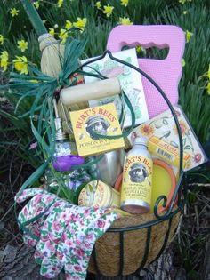 Garden party gardening gift basket gift basket ideas and silent gardening basket workwithnaturefo