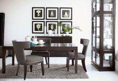 "Bernhardt | Inspiration Dining Rooms: ""Mercer"" room setting."