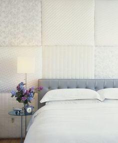 #bedroom #wall #textile