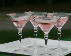 PRETTY PINK MARTINIS...