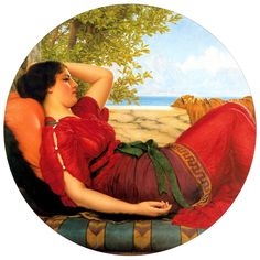 p-Godward_In_Realms_of_Fancy