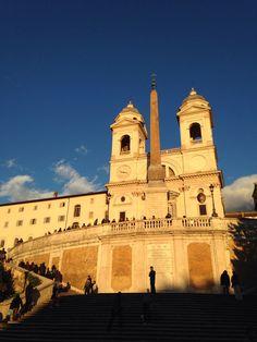 The Spanish Steps, Rome.