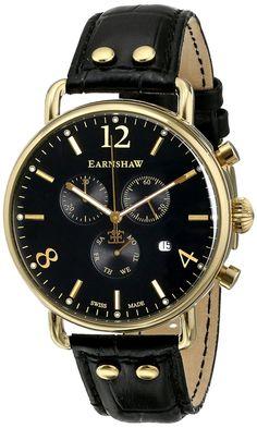 Gold watches men Thomas Earnshaw