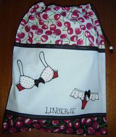 Organizador para lingerie saco para lingerie