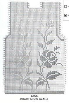 Crochet Bolero Pattern, Crochet Diagram, Filet Crochet, Crochet Stitches, Crochet Top, Crochet Flower Tutorial, Crochet Flowers, Ao Dai, Knitting Yarn