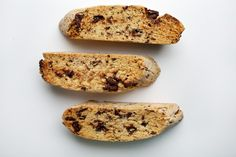 These thick-sliced cookies stand up to dunking. Unlike many kinds of biscotti, they retain a bit of chewiness at the center.