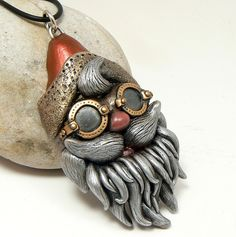 steampunk-goggles-santa-head by Desert Rubble, via Flickr