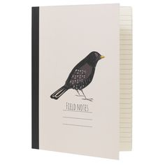 blackbird notebook by dotcomgiftshop