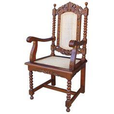 Jake O'Bean Carver Arm Chair, Autumn/Winter season styling Rattan Statement Chair. www.serendipityhomeinteriors.com