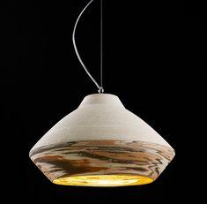 Matera Rosa ceramic pendant by ILIDE