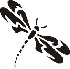 New Custom Screen Printed T-shirt Dragonfly Animal Silhouette Sm