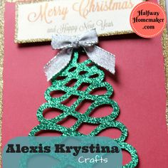 Alexis Krystina Crafts | The Halfway Homemaker. Includes promo code for 15% off!