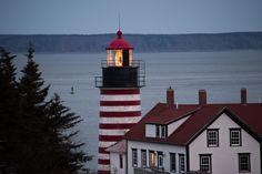 https://flic.kr/p/238HEeX | West Quoddy Head Lighthouse