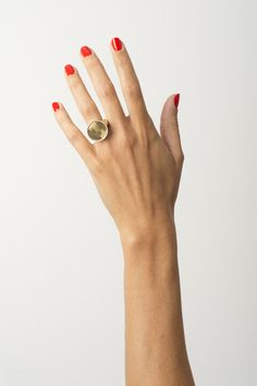 From the Sight of the Sun collection, the Riata gold signet ring is handmade & inspired by the cast gold discs worn by court officials. Also in silver. Signet Ring, 18k Gold, Gold Rings, Fashion Jewelry, Sun, Silver, Handmade, Hand Made, Trendy Fashion Jewelry