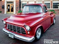 1956 chevy pickup | 1956 Chevrolet Truck Front View Photo 2