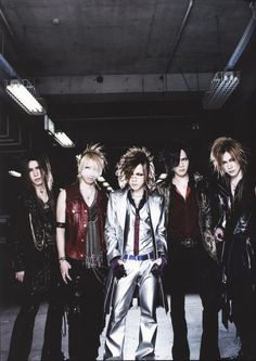 Nowhere NEAR enough pins of these guys. The one, the only, the oh-so- freaking-lovely,     ~the GazettE~