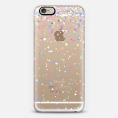 Party Confetti Burst Transparent iPhone 6 Case by Organic Saturation | Casetify. Get $10 off using code: 53ZPEA