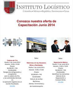 Instituto Logístico | Oferta de Capacitación Junio 2014.