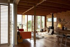 Timms Bach, Beach Shelter by Herbst Architects |
