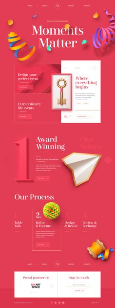 Web Experience / 2018 on Behance