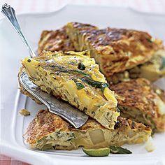 Zucchini-and-Potato Frittata Recipe