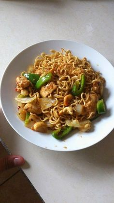 The 514 is a noodle dish from a Thai restaurant Simply Asia. The dish is called Ba-Mee Prik Phao which is roasted chilli paste and cashew nu...