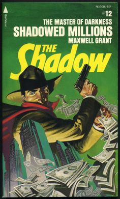 The Shadow 12 - Shadowed Millions - Steranko cover