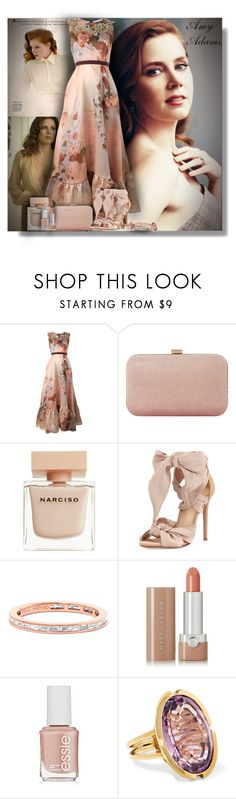"""Amy Adams - Contest!"" by sarahguo ❤ liked on Polyvore featuring Vanity Fair, Antonio Marras, Dune, Narciso Rodriguez, Alexandre Birman, Anita Ko, Marc Jacobs, Essie, Fred Leighton and Allurez"