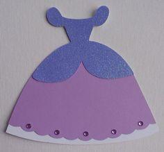 Princesa vestido de invitación para fiesta por MadeOnEasternAvenue
