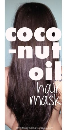 coconut oil hair mask.  super simple (one ingredient) and works wonders on my hair (it's never been softer or shinier).  to think of all the money i spent over the years on expensive hair masks and treatments.
