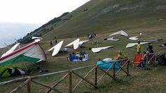 Monte Cucco. Deltaplano.