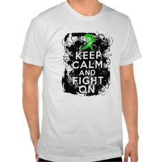 Bile Duct Cancer Keep Calm and Fight On awareness shirts and gifts by giftsforawareness.com