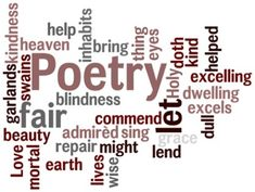 Poetry...Neruda, Shakespeare, Whitman, Eliot, Yeats, Wallace Stevens, Taylor Mali, Saul Williams, Anis Mojgani, William Blake, and so many, many, MANY others...Poetry!