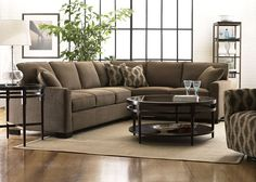 sectional sofas for small spaces | Fitting sectional living room furniture into small ... | For the Home