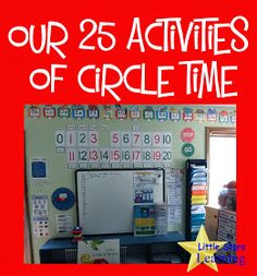 Little Stars Learning: Our 25 Activities of Circle Time @jelenareskovac this is golden!!!!