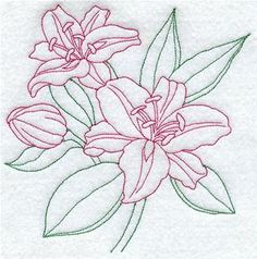 Grand Sewing Embroidery Designs At Home Ideas. Beauteous Finished Sewing Embroidery Designs At Home Ideas. Paper Embroidery, Rose Embroidery, Hand Embroidery Patterns, Vintage Embroidery, Custom Embroidery, Machine Embroidery Designs, Embroidery Stitches, Lilies Drawing, Embroidered Towels