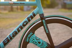 Beautiful Bicycle: Alex's Bianchi Super Pista | Flickr - Photo Sharing!