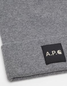 Style: A.p.c. X Carhartt - Cotton-cashmere Beanie