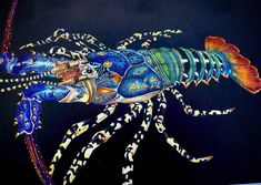Intricate art indeed!  Fabulous colours by @ewhite0723 -  Rock Lobster from the…