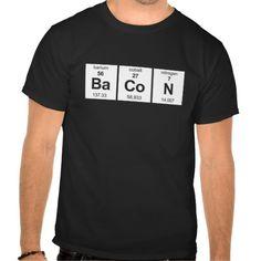 #BaCoN - Basic Dark #TShirt #Chemistry