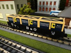 MTH Spotlight  http://mthtrains.com/railking/spotlight/08_2015/e  In the freight yard today the just arrived MTH RailKIng O Gauge Gondola with Crates. These RailKing Gondolas come in Rock Island 30-72155, Norfolk Southern 30-72156, Canadian National 30-72157, Baltimore & Ohio 30-72150, Great Northern 30-72152, Delaware & Hudson 30-72153, and Ontario Northland 30-72154.