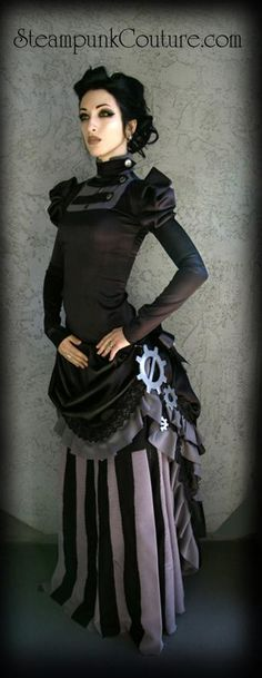 Less outfit more of the shoulders up.  created by Steampunk Kato
