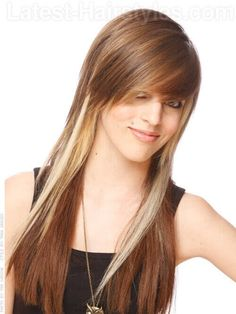 Cool Hairstyles For Long Straight Hair