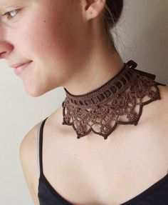 Náhrdelníky - Oriešková čokoláda...náhrdelník - 3059646