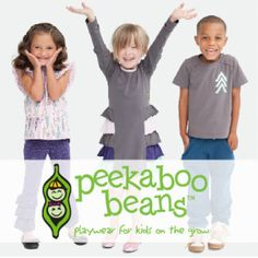 Peekaboo Beans Children's Clothing #HolidayGiftGuide Holiday Gift Guide, Holiday Gifts, Boxing Today, Beans, Presentation, Couples, Clothing, Kids, Outfits
