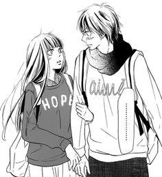 Kimi ni Todoke, Kuronuma Sawako y Kazehaya Shōta Kimi Ni Todoke, Manga Love, Anime Love, Kuroko, Sailor Moon, Manhwa, Manga Anime, Boruto, Gekkan Shoujo